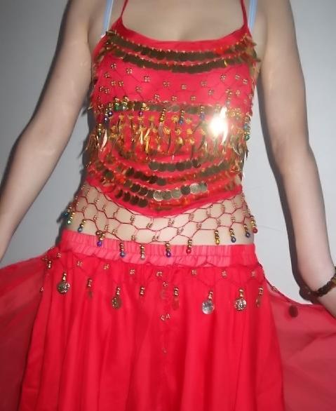xxx情色_黄色肚皮舞服装 印度舞
