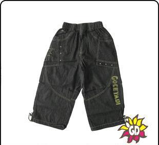 大童 少年装 正品乔克亚迪2012夏装新款 男款7分裤065