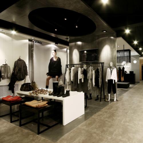 服装展厅设计简约时尚