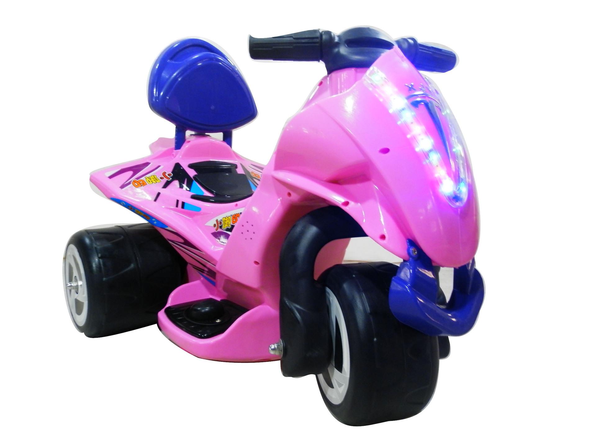 小脚印2015儿童可坐电动车摩托车童车三轮车新款儿童三轮车