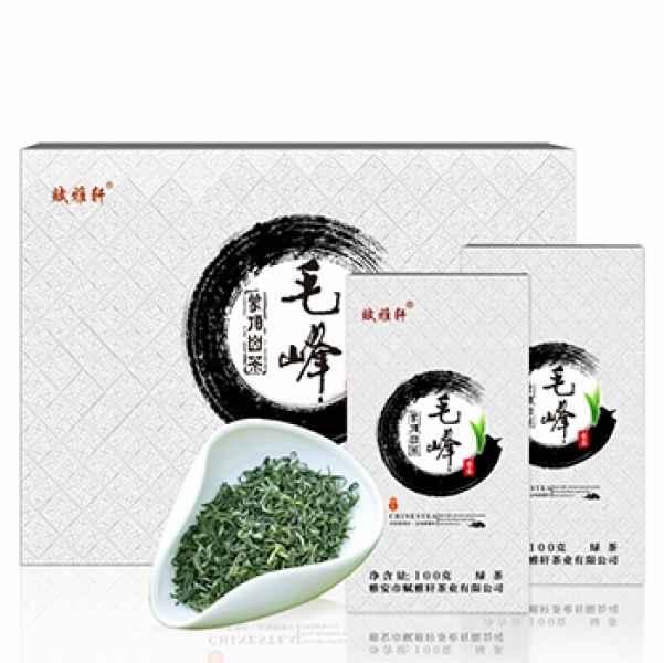 赋雅轩蒙顶山毛峰绿茶礼盒