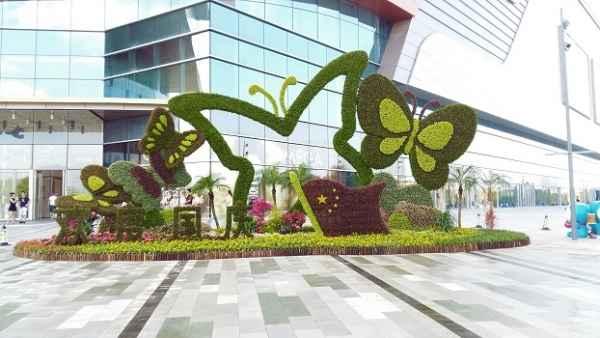 上海专业制作绿雕厂家