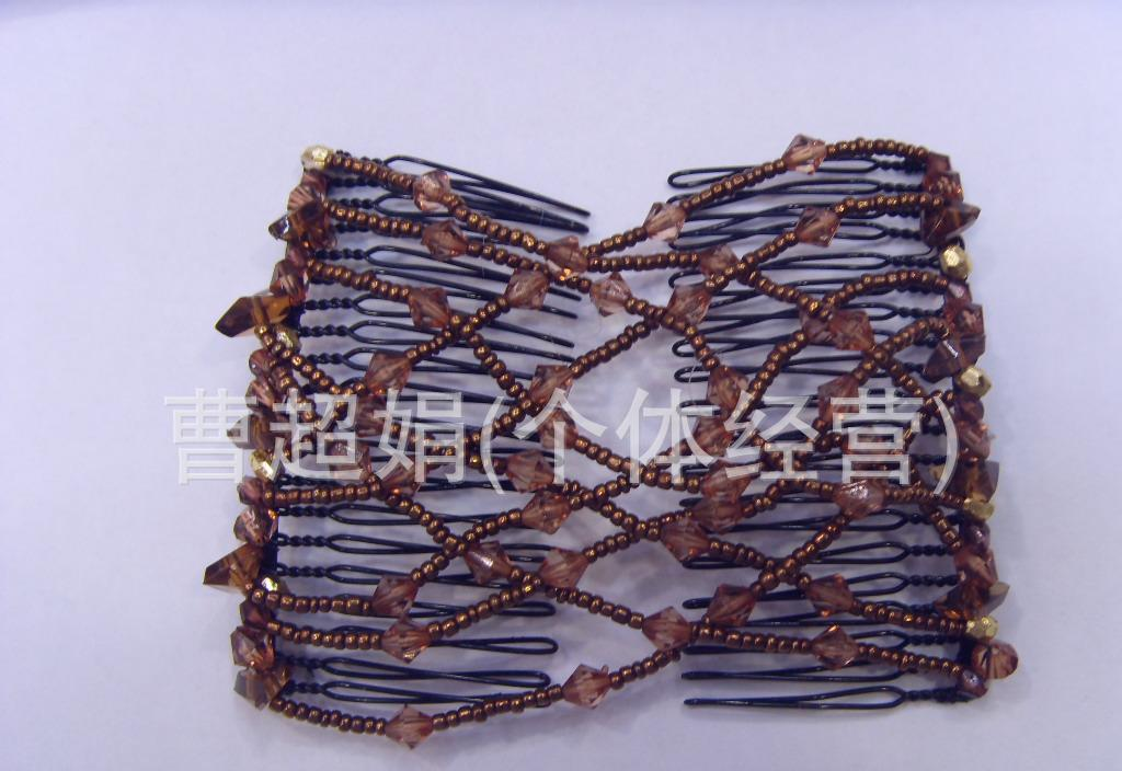 米珠15钻百变发梳 百变发梳 百变盘发器1图片