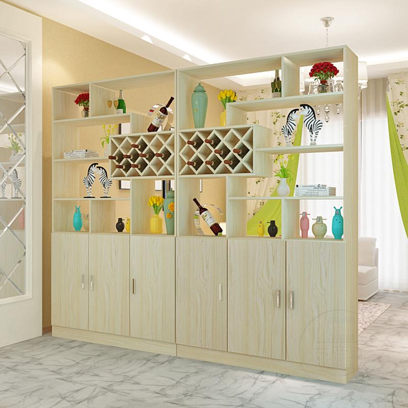 隔断柜现代简约鞋柜客厅装饰柜餐厅置物架屏风柜酒柜