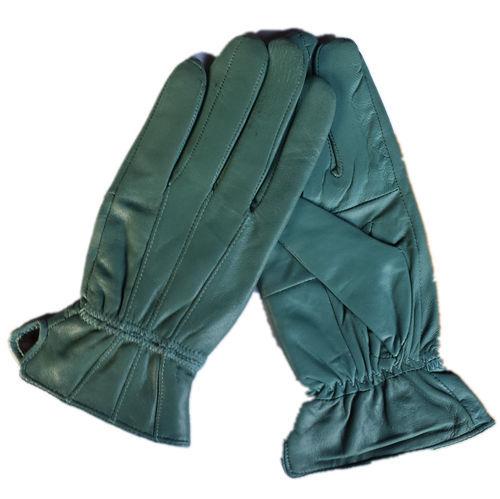 厂家供应新款女士羊皮手套秋冬季加绒加厚保暖外贸拼皮手套