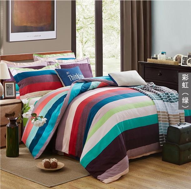 全棉生态磨毛四件套 床上用品四套件一件代发活性斜纹精品磨毛