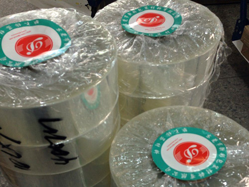 想买上好的透明离型膜就到东莞新彩-7.5C高透离型膜