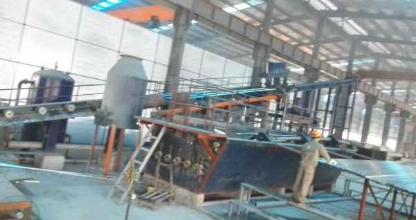 钢管自动热镀锌生产线