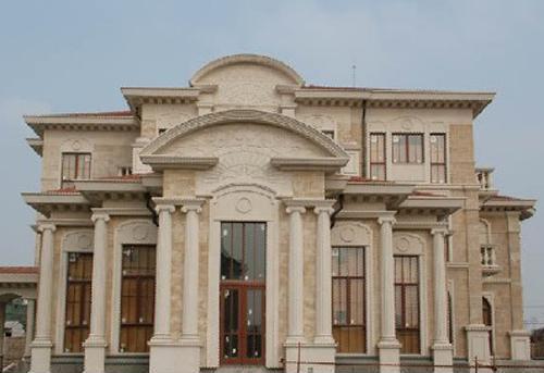 涵洞grc施工,阳台grc施工,grc罗马柱施工,别墅grc施工,外墙grc设计