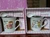 供应恒楷礼品装厂家直销1.3元陶瓷礼品盒装水杯
