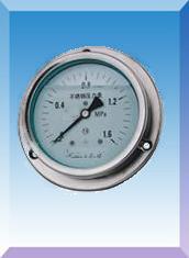 耐震全不锈钢压力表(YN-60B 100B 150B)