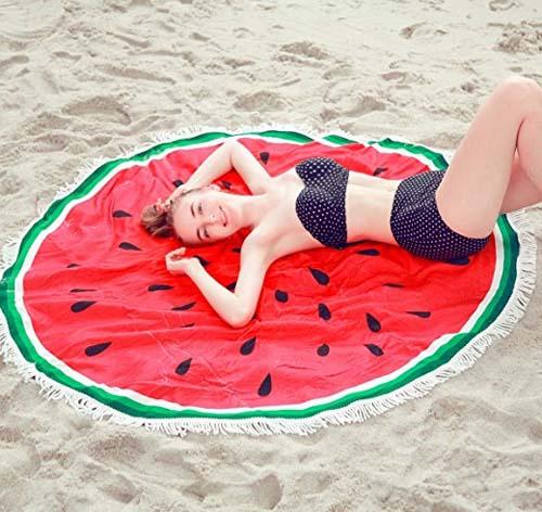 219夏季圓形沙灘巾廠家直銷爆款