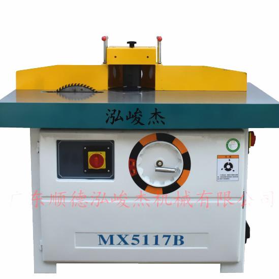 泓峻杰木工加工设备 MX5117B立式单轴木工铣床 门框专用设备