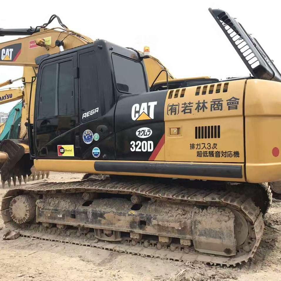 16年原装进口卡特320精品二手挖掘机手续齐全