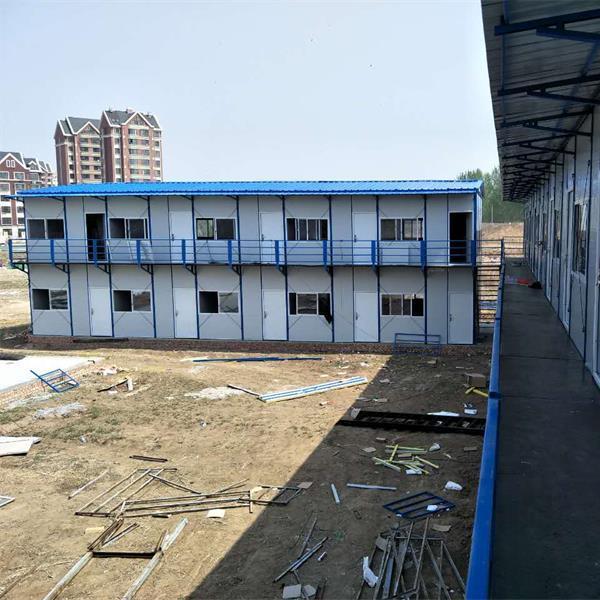 低价岩棉复合板山东彩钢房厂 批发潍坊活动房 工地用