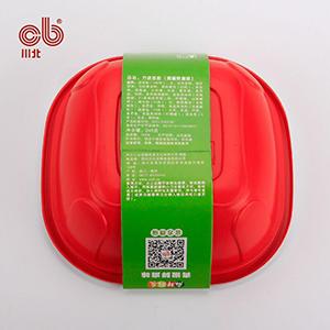 供应 四川特产 中华名小吃 川北凉粉 青椒鲜麻  即食凉粉