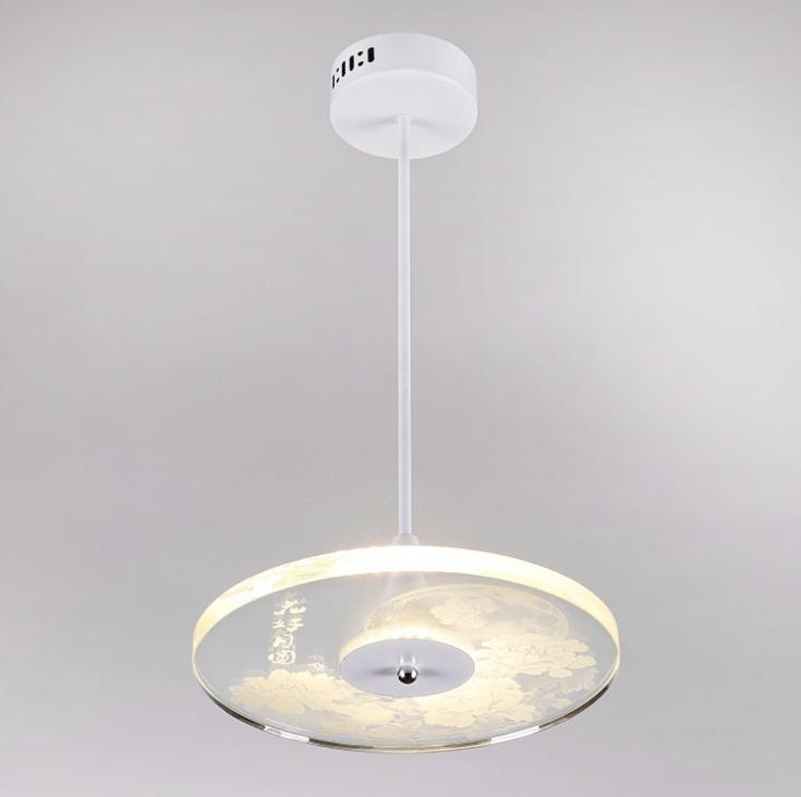 供应 创意水晶家居艺术吊灯 厂家直销LED遥控变光书房客厅吊灯