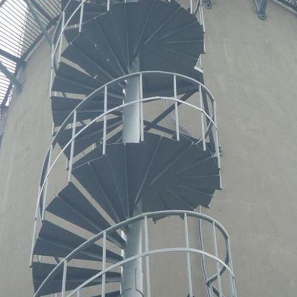 商丘市烟囱旋转梯安装价格