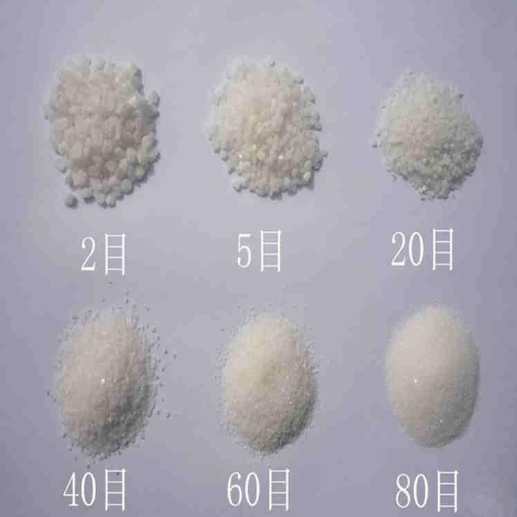 厂家供应水处理用石英砂滤料 喷砂除锈石英砂