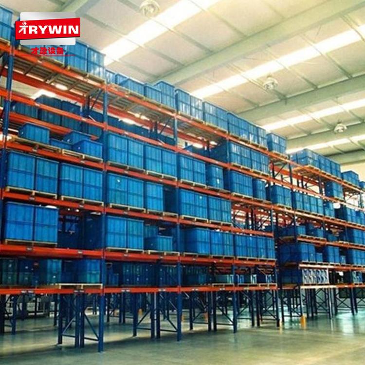 才盈托盘货架 横梁组合式重型货架 大型库房仓储货架