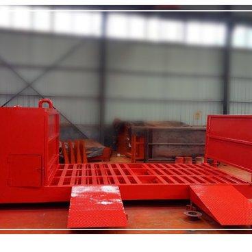 全自动洗轮机 工程车辆洗轮机 平板洗轮机  世泰优机械