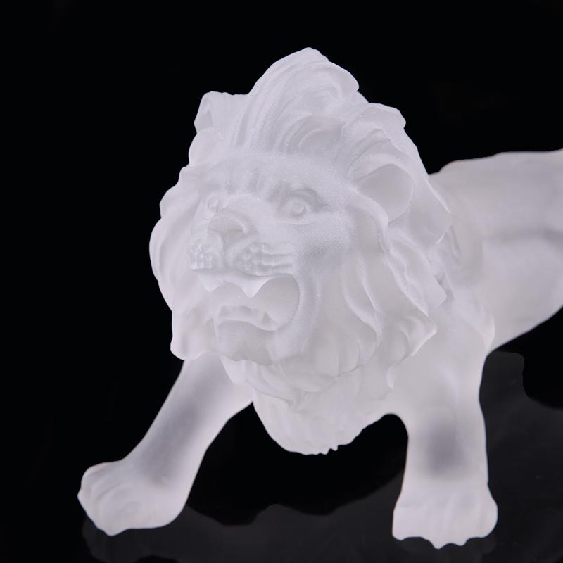 浦江水晶  供水晶狮子 老鹰 水晶立体狮子 老鹰 水晶艺术品