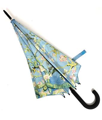 供应 数码印刷广告礼品伞 8K双股防风架直杆广告伞
