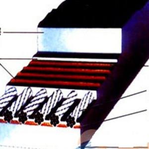 钢丝胶带-聚酯输送带厂家
