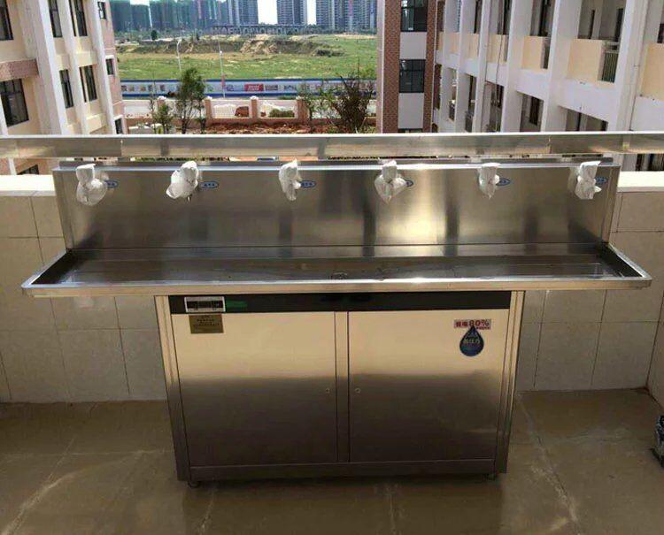 娄底学校学生教学楼饮用饮水机 可放户外 走廊 可供200人