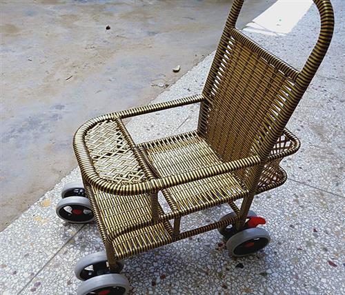 开顺童车生产(在线咨询),藤编童车,周口藤编童车哪家好