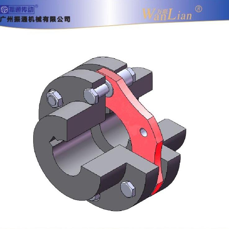 振通传动DJM型键联结单型弹性膜片联轴器  膜片联轴器厂家