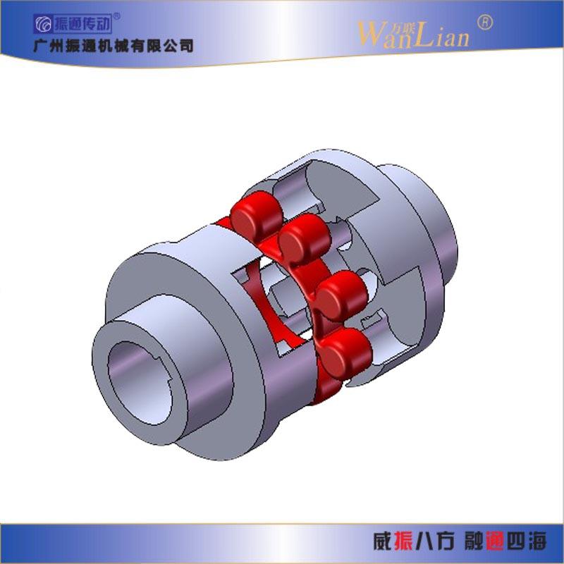 振通传动LM型梅花形弹性联轴器   广东联轴器厂家