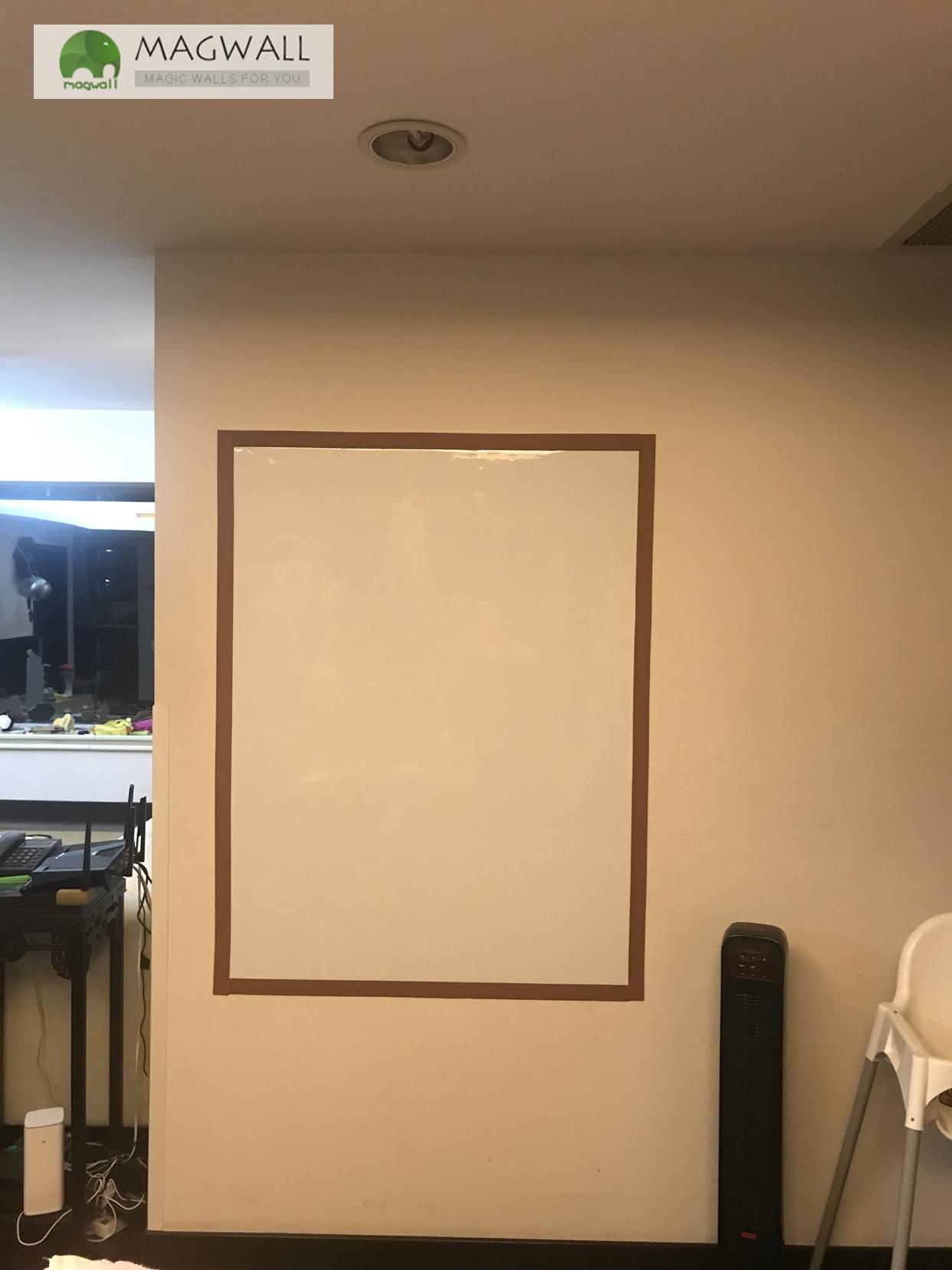 供应magwall无尘擦写双层磁性白板 儿童白板贴