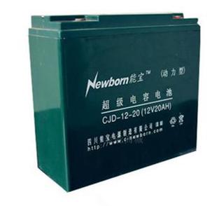 铅碳超级电容电池动力型12V100AH