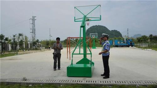 定制生产(多图)、篮球架厂电话、五华县篮球架厂