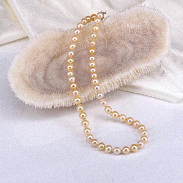 70500817-東園珠寶 海水珍珠項鏈 7.7mm