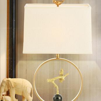 供应 铜台灯客厅卧室书房床头灯具简约