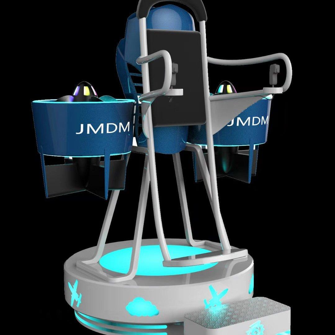 银河幻影VR背包飞行器 站立式VR体验 VR航天航空科普