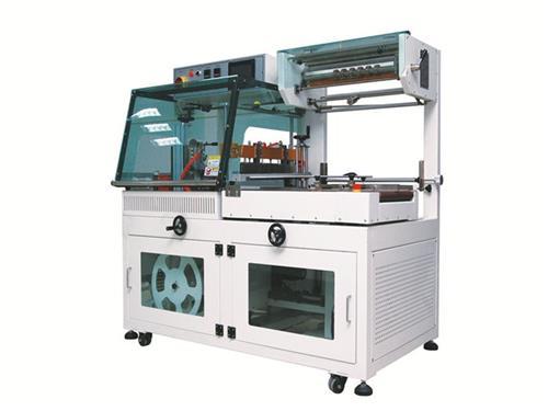惠州彩盒自动套膜收缩机、彩盒自动套膜收缩机、宝驰