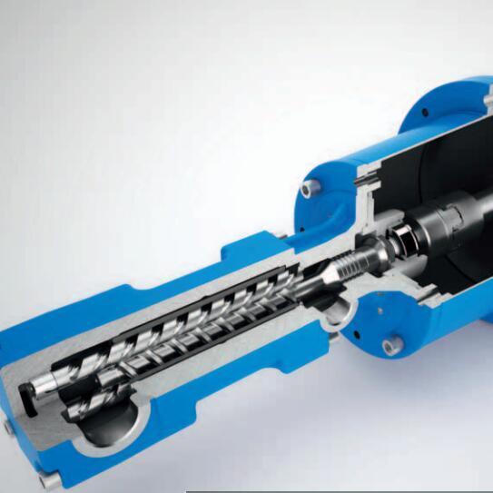 出售TFS496三清机床厂配套冲洗螺杆泵整机
