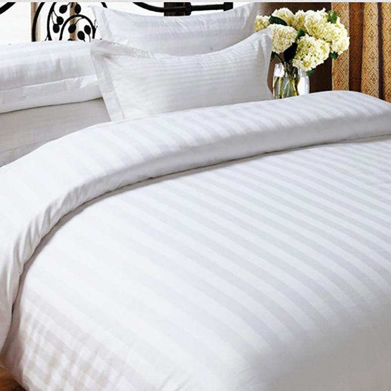 供应宾馆酒店用高密高织纯棉缎条