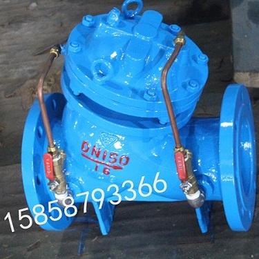富锦JD745X铸钢多功能水泵控制阀DN300DN400DN500直销