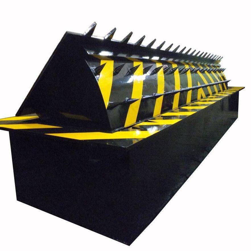 成都森茂-四川路障机反恐墙翻板机-防撞墙厂家
