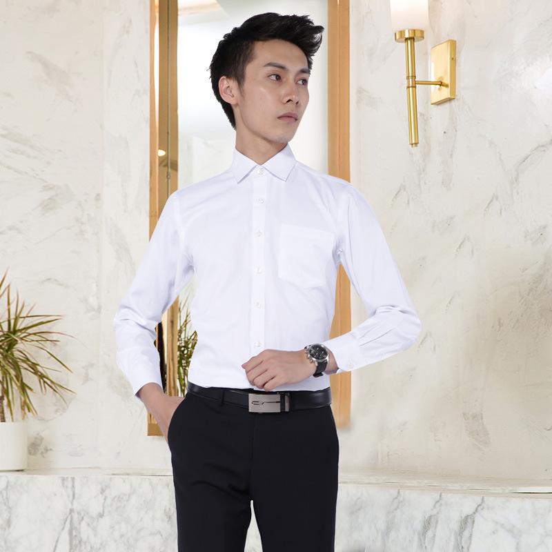 湖南职业装加工定制男式商务休闲长袖套装工作服
