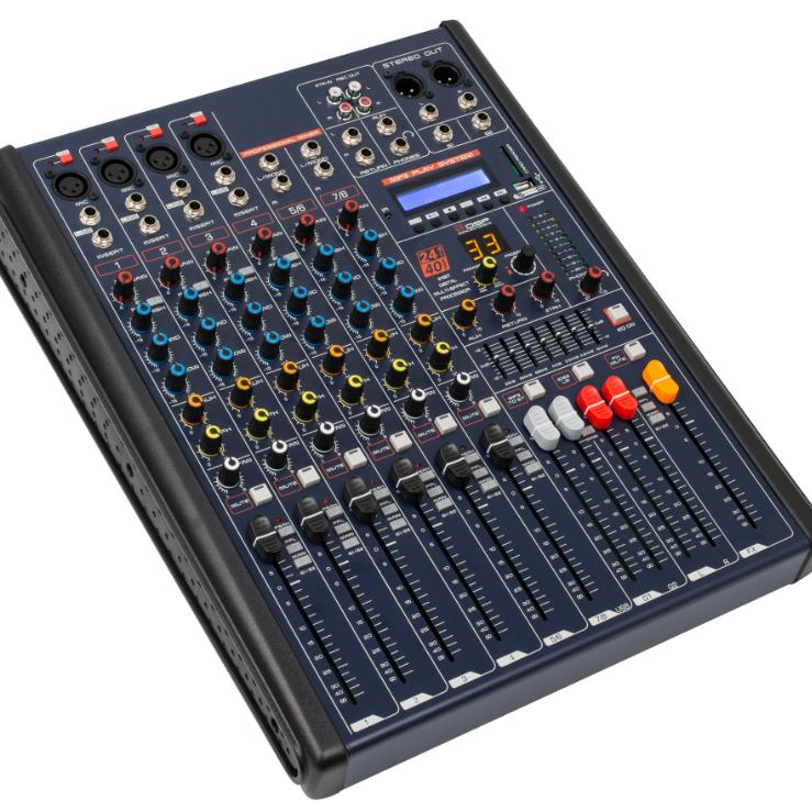 MKX系列8路带效果 均衡 蓝牙调音台