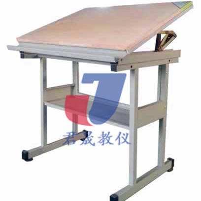 供应君晟JS-Z4型热销爆款全钢制固定式实用绘图桌