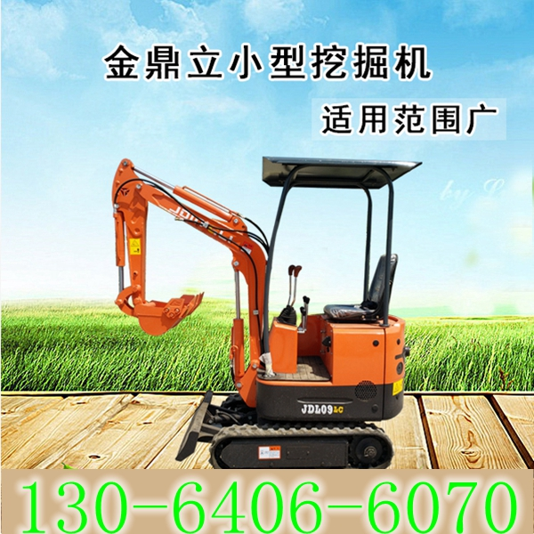 陕西金鼎立重工JDL12S小型挖掘机