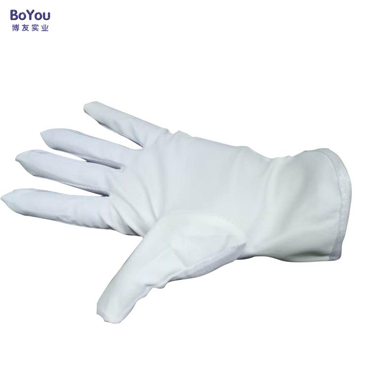 尼龙PU涂掌手套 防静电掌面涂层手套防静电PU条纹手套防厂家直销