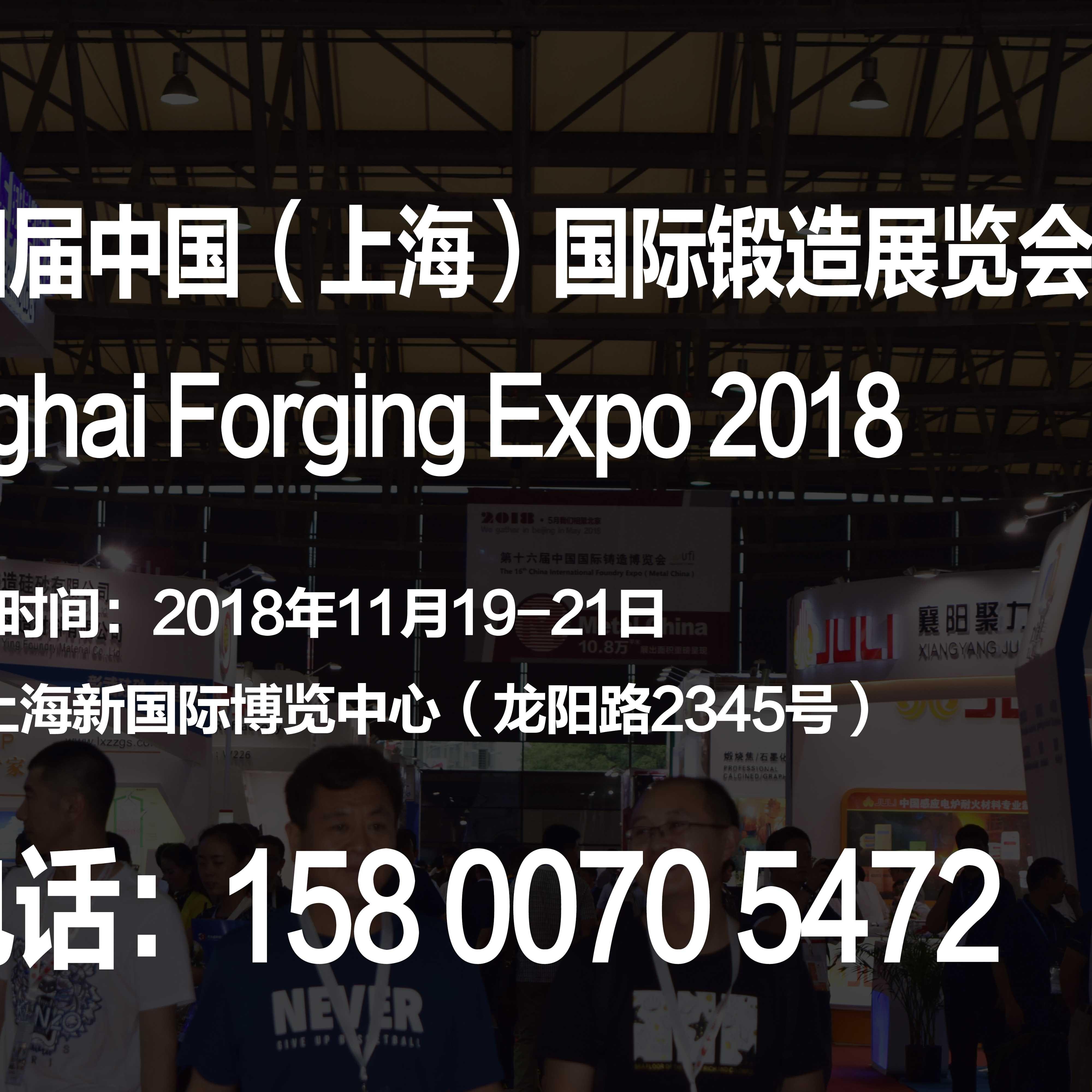 2018第十四届中国(上海)国际锻造展览会 报名热线15800705472