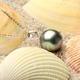 美尚珍珠 11-12mm大溪地菲律賓申搏sunbet官網 正圓強光微瑕 可送簡單銀托